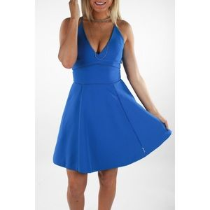 NEW Adelyn Rae Fit & Flare Dress